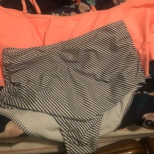 Two piece high waisted swimsuit. NWOT